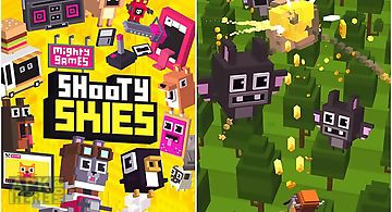 Shooty skies: arcade flyer