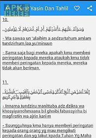 Surat Yasin Arab Latin Artinya For Android Free Download At
