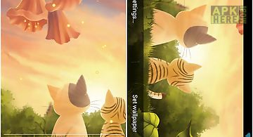Kitten Sunset Live Wallpaper For Android Free Download At Apk Here