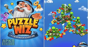 Puzzle wiz: a color match advent..