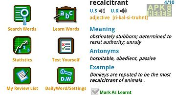 Word learner vocab builder gre