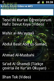 holy quran video and mp3