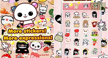 My chat sticker emoji - cute!