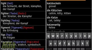 German - english offline dict.
