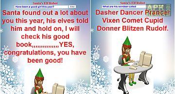 Talking christmas elf