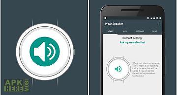Wear speaker