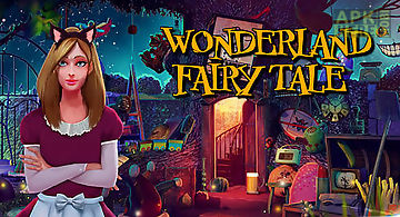 Hidden objects wonderland: fairy..