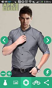 man shirt photo suit