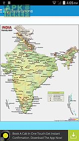 maps of india:travel guide