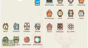 Life-apus launcher theme