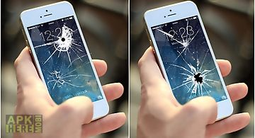 Broken screen prank 2