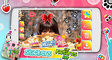 Stickers for pictures app