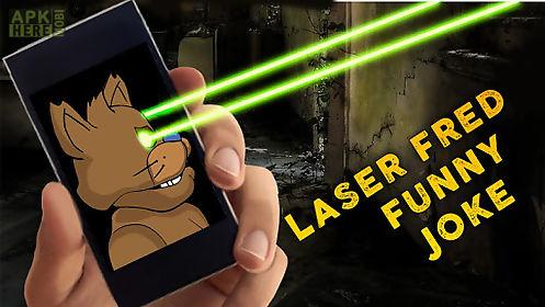 laser fred funny joke