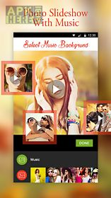 photo slideshow along music
