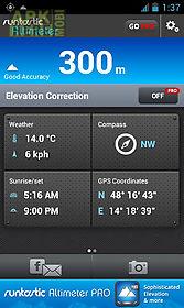 runtastic altimeter & compass