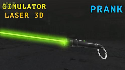simulator laser 3d joke