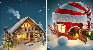 Christmas 3d by wallpaper qhd Li..