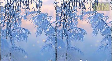 Snow white in winter Live Wallpa..