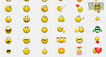 Diverse emoticons