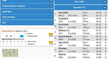 Indian rail pnr enquiry & live