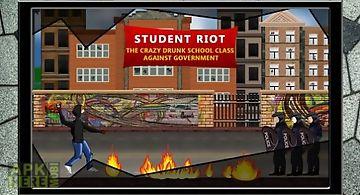 Student riot: drunk class