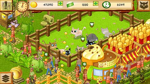 Cat park tycoon for Android free download at Apk Here store