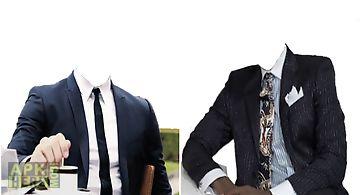 Fashion men. photo montage