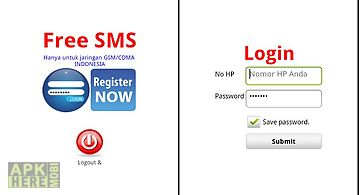 Free sms indonesia