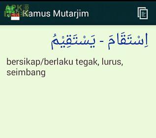 kamus arab indonesia mutarjim