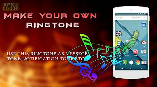 my name musical ringtone maker