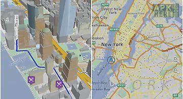 Online maps 3d
