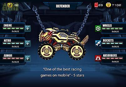 mad truck - hill climb racing