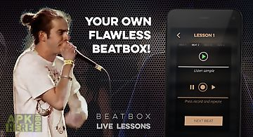 Sing beat box voice