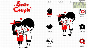 Smile couple go launcher