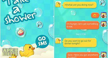(free) go sms pro shower theme