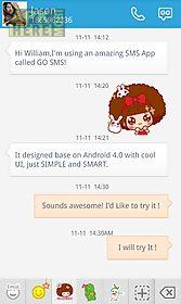 go sms pro mocmoc sticker