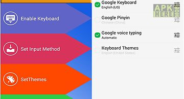 Keyboard themes