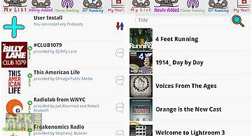 Ratpoison podcast player