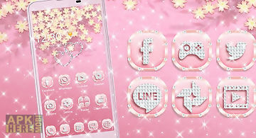 Theme rose gold diamond