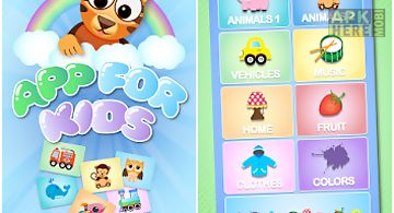 App for kids - free kids game