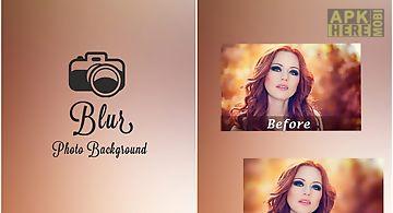 Blur photo background effect