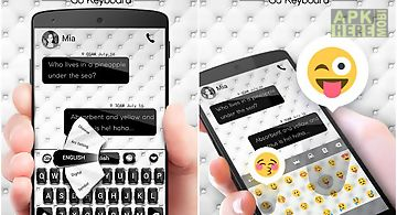 Clean go keyboard theme emoji