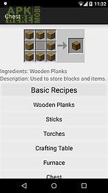 crafting helper for minecraft