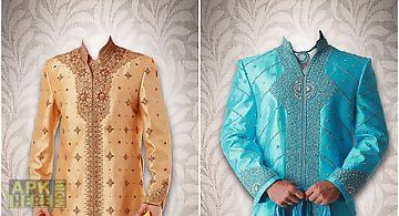 Sherwani suit photo maker