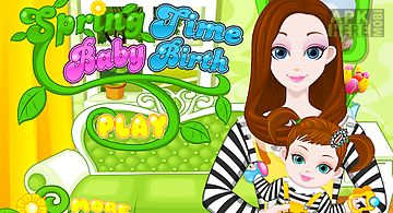 Spring birth - baby games
