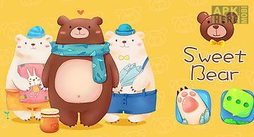 Sweet bear go launcher theme