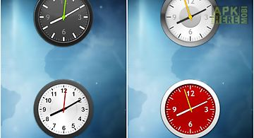 Clock widget pack modern