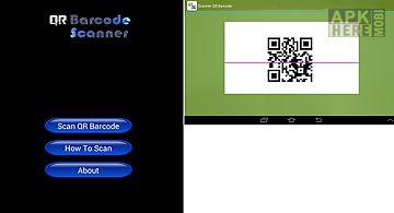 Scanner qr barcode