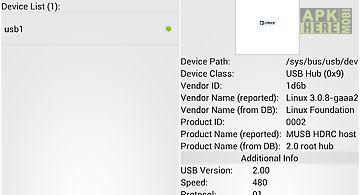 Usb device info