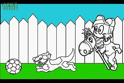 Kids Coloring Book Game Free